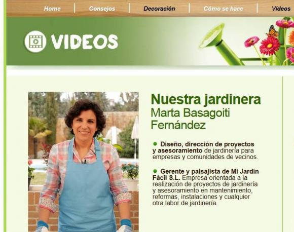 Lidl Jardin. Marta Basagoiti